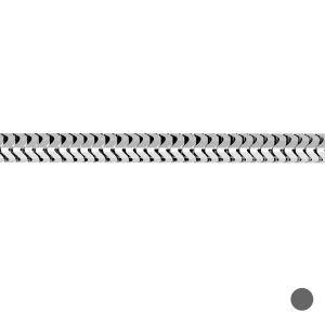 Bulk chain - flexible snake*sterling silver 925*CSTD 1,2 mm