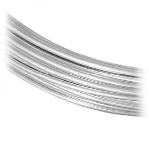 Regular sterling silver wire - WIRE-S 0,5 mm