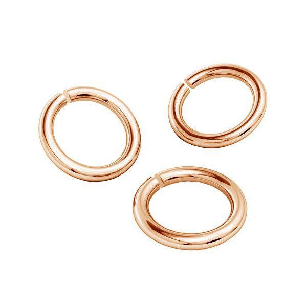 KC-0,80x2,15 - Open jump rings, sterling silver 925