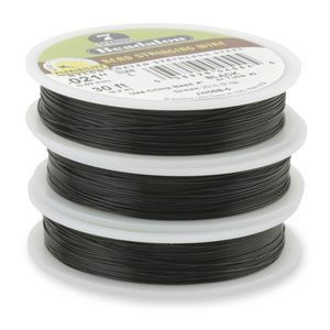 7STRD WIRE .012 BLACK 30