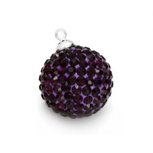 DISCOBALL AMETHYST 14 MM