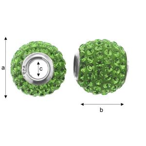 ModuleBALL PERIDOT 12 MM