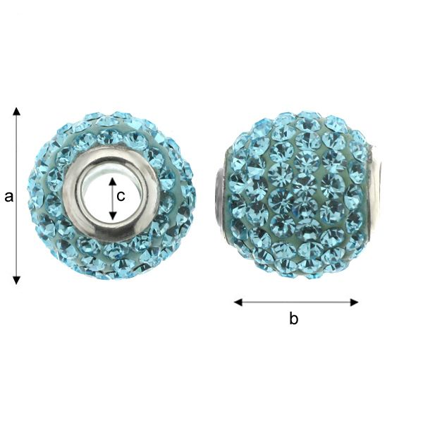 ModuleBALL AQUAMARINE 12 MM