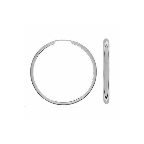 Round earring 50mm KL-100