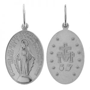 Miraculous medal - PENDANT W-56 16,5x30 mm