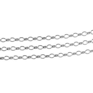 ROLO OVAL 0,35X0,60 - sterling silver bulk chain