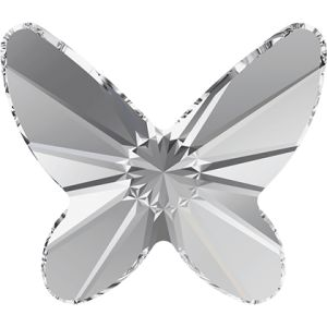 2854 MM 12,0 CRYSTAL F - Butterfly Flat Back