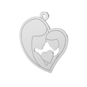Mother & daughter, sterling silver 925, LK-0421ver. 2