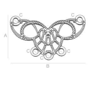 LK-0527 - Base for earrings