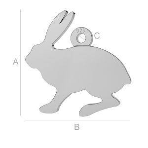 Hare charm, LK-0 - 0,50