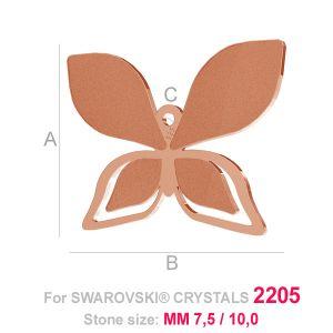 Butterfly charm (2205) - LK-0