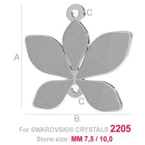 Leaf charm (2205) - LK-0