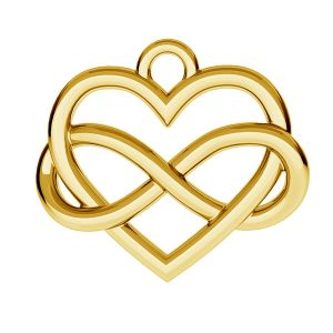 Infinity sign with heart - ODL-00168