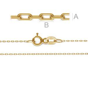 Anchor gold chain 14K - AD 020 AU 585 MODEL 1