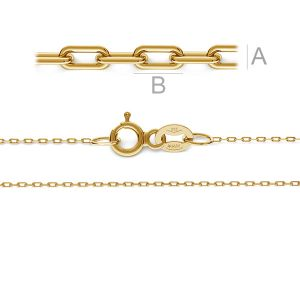Anchor gold chain 14K - A 020 AU 585