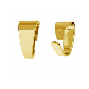Bail finding gold 14K LKZ-00027 KR - 0,30 mm