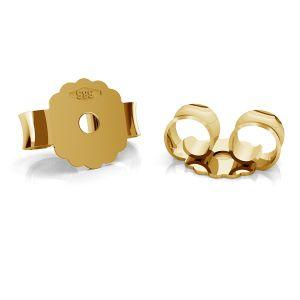 Gold back stopper BARZ 2 - AU 585,14K