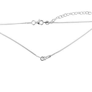 Necklace base S-CHAIN 10 PDS 35 - (20+20 cm)