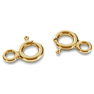 5mm open bolt ring gold 14K AMZ 5,0 TNMP