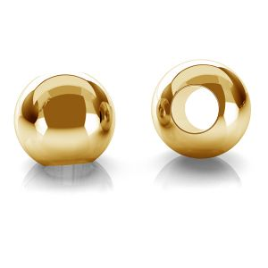 Ball spacer 2,5mm gold 14K P2LZ 2,5 F:1,2