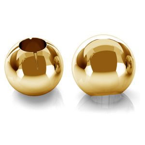 Ball 3mm (1hole) gold 14K P1FZ 3,0 F:0,9