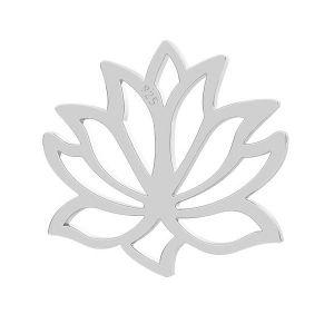 Lotus flower pendant, LK-0771 - 0,50 13x14 mm