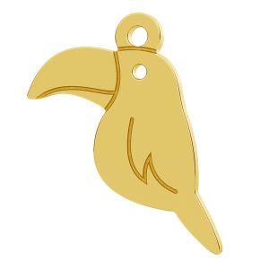 Tucan bird pendant, LK-0812 - 0,50