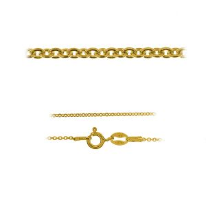 Anchor gold chain 14K - A 030 AU 585 (40-60 cm)