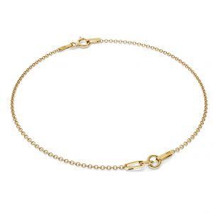 Gold bracelet base S-BRACELET 2 - (7+7 cm) AU 585 14K