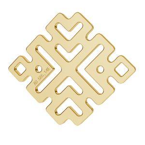 Greek style pendant gold 14K LKZ-00188 - 0,30 mm