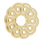 Flower pendant gold 14K LKZ-00203 - 0,30 mm