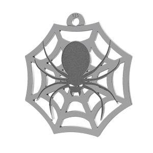 Spider halloween pendant, LK-1020 - 0,50