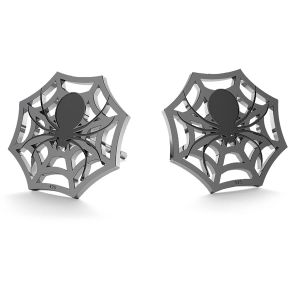 Spider halloween earrings, LK-1029 - 0,50
