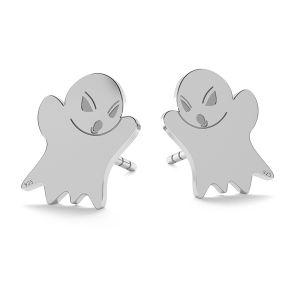 Ghost halloween pendant, LK-1015 - 0,50