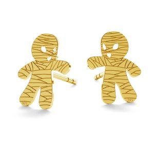 Mummy halloween earrings, LK-1026 - 0,50