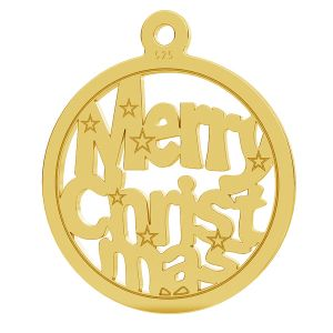 Merry Christmas pendant LK-1048 - 0,50
