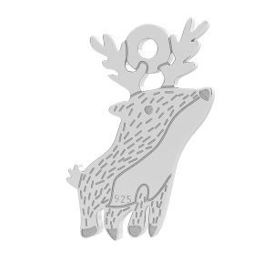 Reindeer pendant LK-1054 - 0,50