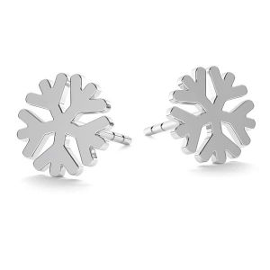 Snowflake earrings LK-1074 - 0,50