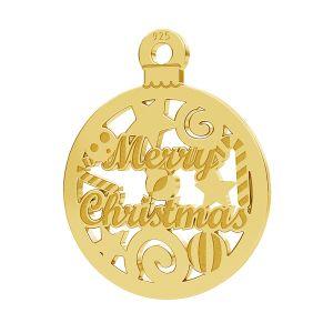 Merry Christmas pendant LK-1087 - 0,50