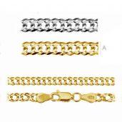Rombo chain 0,4 cm - RD  60 (45-60 cm) AU/RH