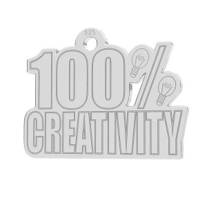 100% Creativity pendant, LK-1184 - 0,50