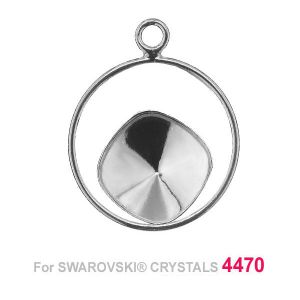 Cushion Cut 10mm Swarovski base OKSV 4470 MM 10 CON1 ver.3 KCL 0,9x2,0