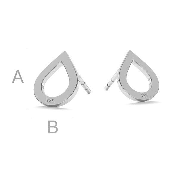 Drop earrings LK-1211 - 0,50 - KLS