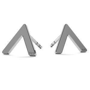 V shape earrings LK-1213 - 0,50 - KLS