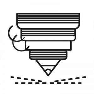 Engraving - AU 585