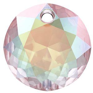 Classic Cut Pendant, Swarovski Crystals, 6430 MM 8,0 CRYSTAL AB