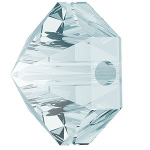 Hexagon Spike Bead, Swarovski Crystals, 5060 MM 5,5 CRYSTAL BLUE SHADE