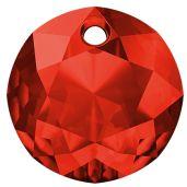 Classic Cut Pendant, Swarovski Crystals, 6430 MM 14,0 LIGHT SIAM