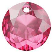 Classic Cut Pendant, Swarovski Crystals, 6430 MM 14,0 ROSE