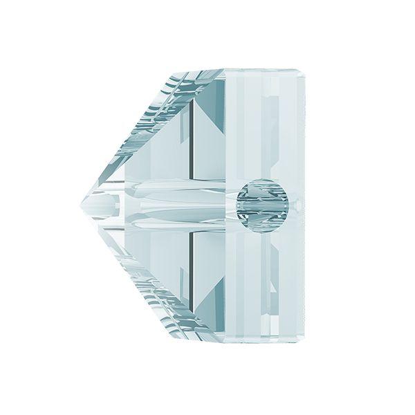 Square Spike Bead, Swarovski Crystals, 5061 MM 5,5 CRYSTAL BLUE SHADE